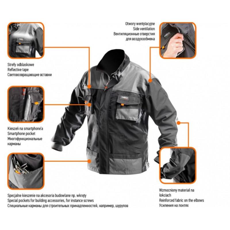 Рабочая блуза NEO XL/56 81-210-XL-1