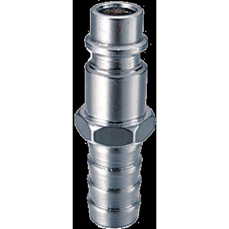 Разъемное соединение Fubag 180162 рапид (штуцер), елочка 10 мм с обжимным кольцом 10x15 мм