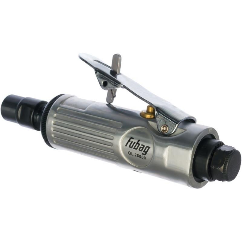 Прямая пневмошлифмашина Fubag GL25000 + набор оснастки 100101-1
