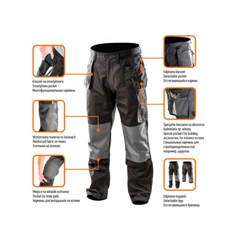 Рабочие брюки NEO 81-230 S/48 81-230-S-1