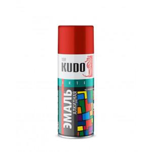 Эмаль KUDO KU-1003 универсальная алкидная «3P» TECHNOLOGY красная