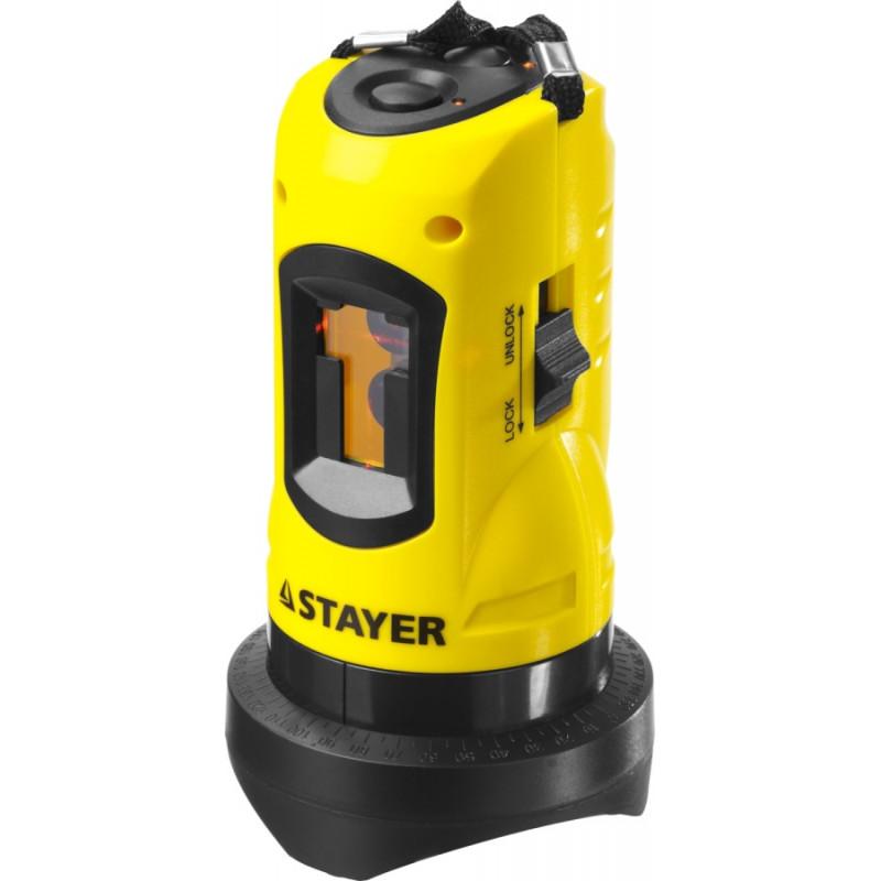 Лазерный нивелир STAYER SLL-2 + штатив-1
