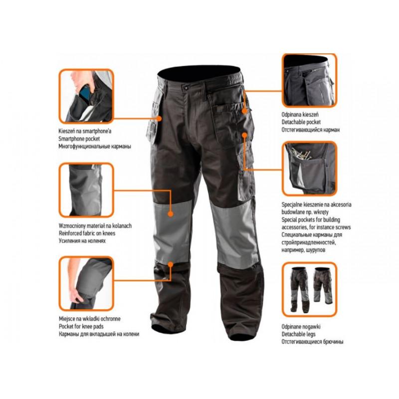 Рабочие брюки NEO 81-230 XL/56 81-230-XL-1