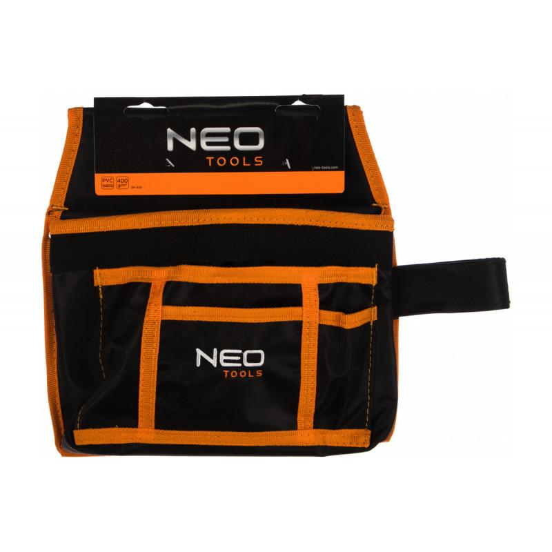 Карман для инструмента 4 гнезда, петля для молотка NEO 84-333