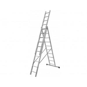 Трехсекционная лестница универсальная ПРОФИ 3х10 ст