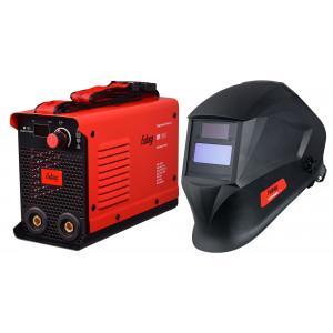 Сварочный аппарат FUBAG IR 160 + маска сварщика Optima 11