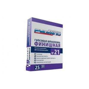 Гипсовая Шпаклевка Финишная РусГипс №21, 25 кг