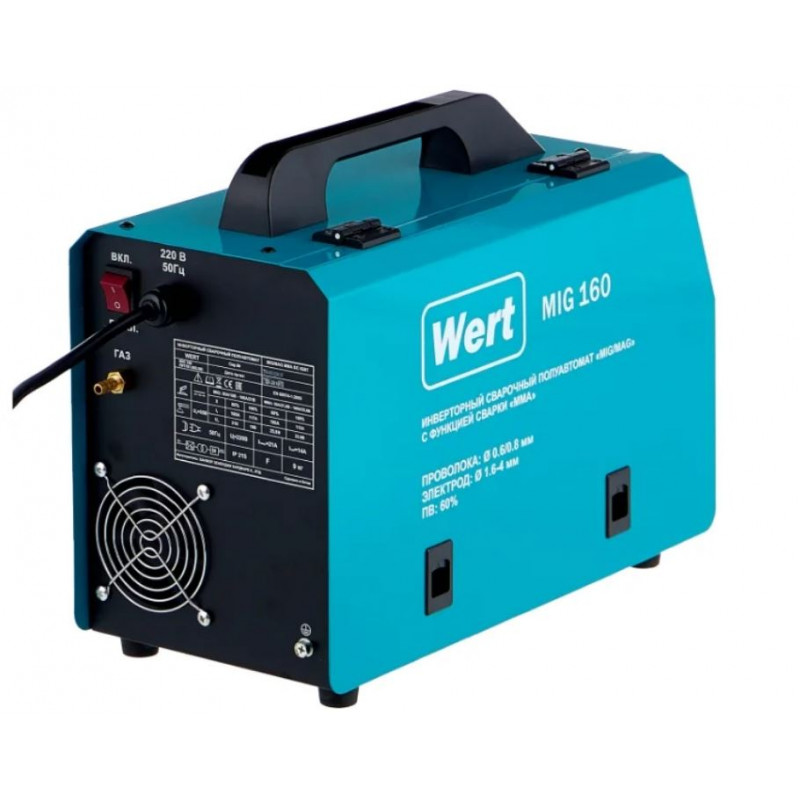 Сварочный аппарат WERT MIG/MAG MIG 160-1