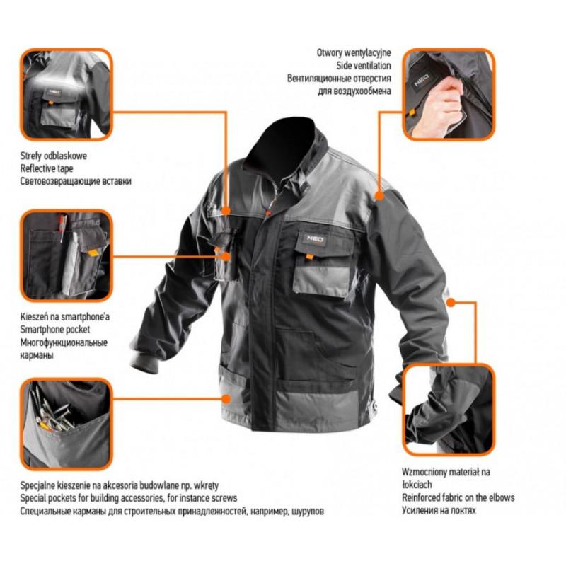 Рабочая блуза NEO S/48 81-210-S-1