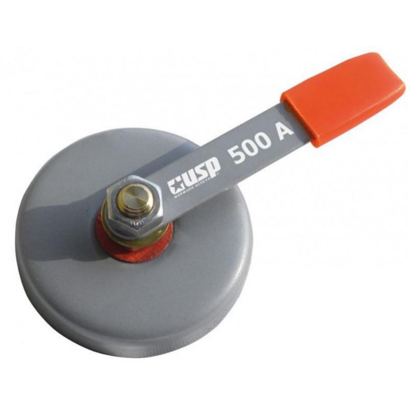 Клемма заземления магнитная 500 А, диаметр 86 мм, сила 23 кг USP 80789