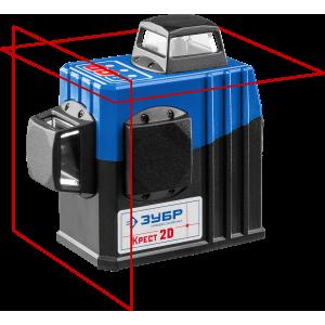 Лазерный уровень 2D (2х360 20/70м. точн. +/- 0,3мм) ЗУБР