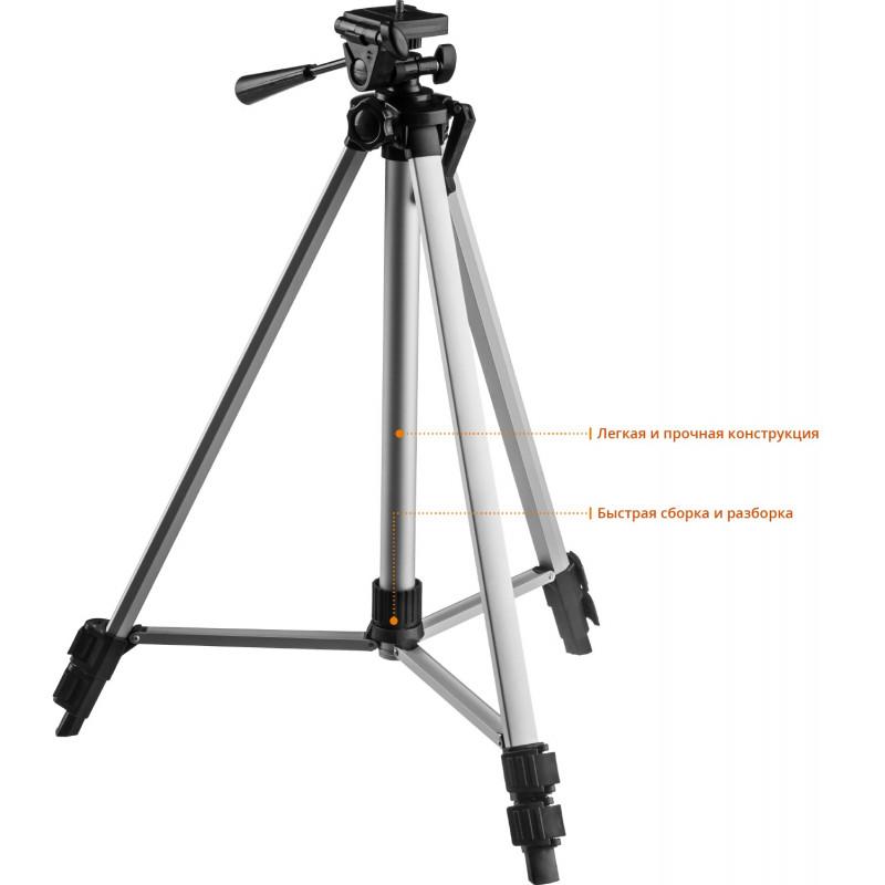 Лазерный уровень 3D + штатив (3х360 20/70м. точн. +/- 0,3мм) ЗУБР-1