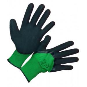 Перчатки рабочие Пена зеленые 75 %