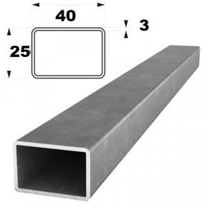 Труба проф.  40х25 х3,0   (6,0м)