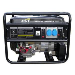 Бензиновый генератор EST 3600, 2,8 кВт, 230 В, бензин, 15 л