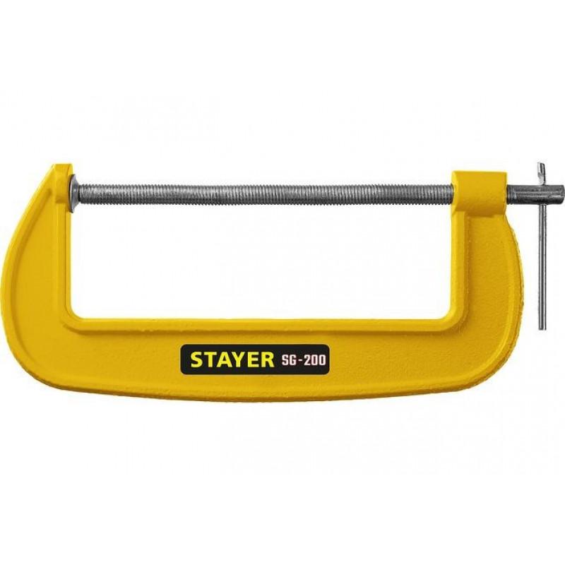 Струбцина SG-200 тип G 200 мм, STAYER 3215-200_z02