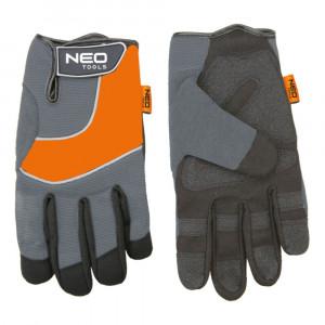"Перчатки рабочие спилок PCV размер 10,5"" NEO 97-605"