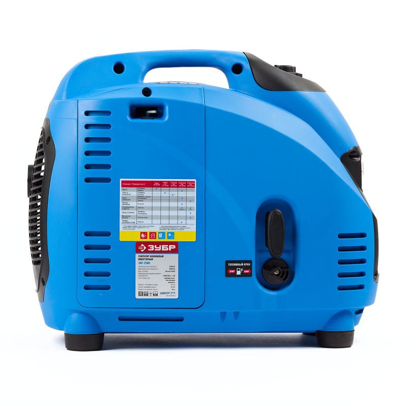 Генератор бензиновый ЗУБР ЗИГ-2500 инвертор-2