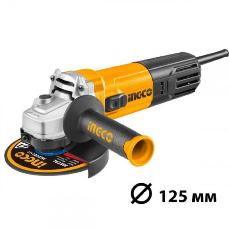 Угловая шлифовальная машина INGCO AG110018 INDUSTRIAL