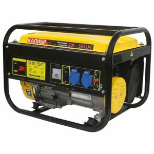 Бензиновый электрогенератор Калибр БЭГ-3011РС 2,5/3 кВт