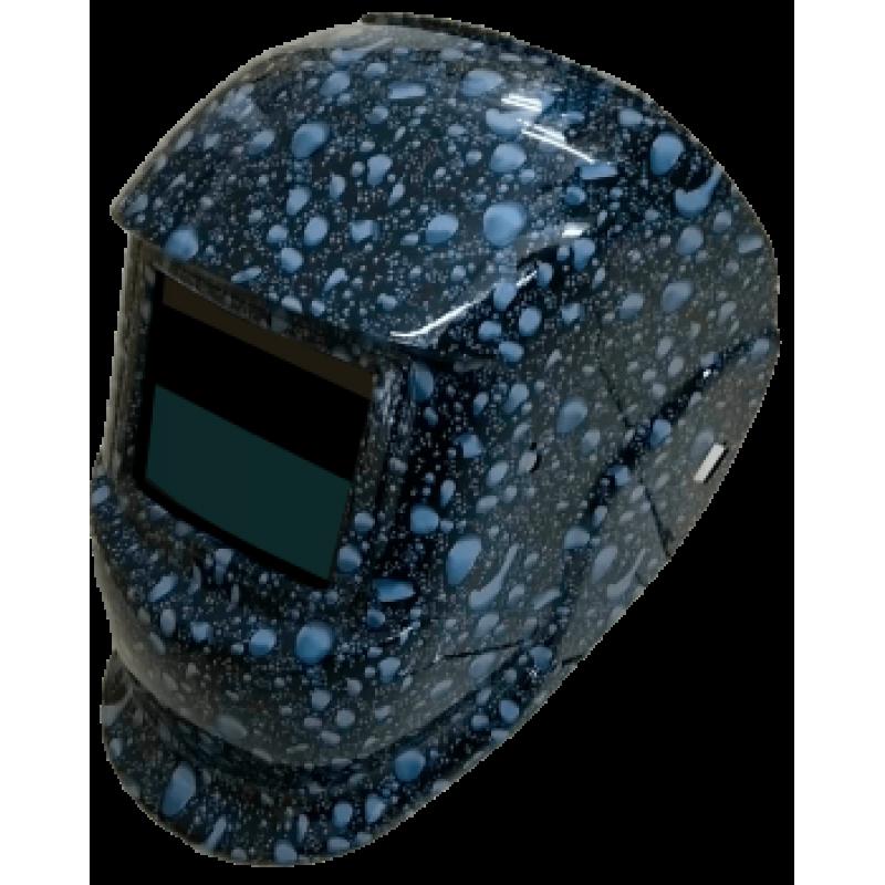 Сварочная маска Хамелеон BRIMA MEGA HA-1110o капли