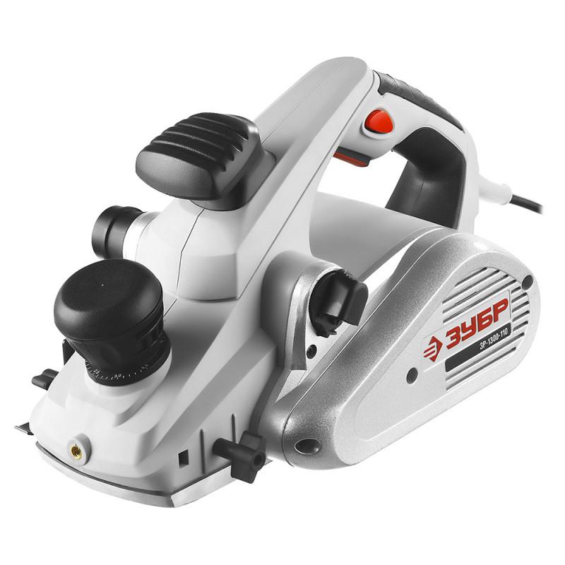 Рубанок электро ЗУБР ЗР-1300-110
