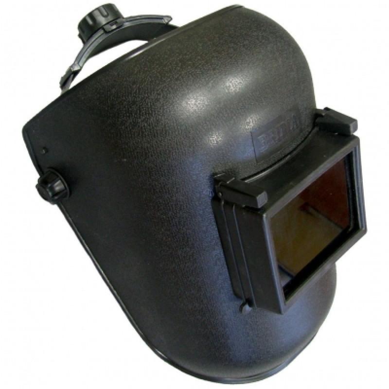 Маска сварочная BRIMA HA-1005 110x90 мм, черная