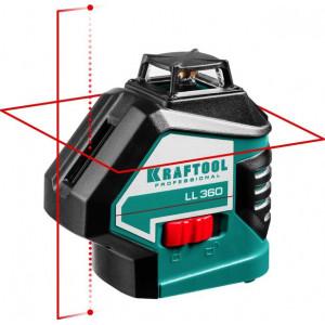 Лазерный нивелир KRAFTOOL LL360
