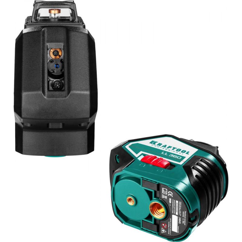 Лазерный нивелир KRAFTOOL LL360-3 + штатив-2