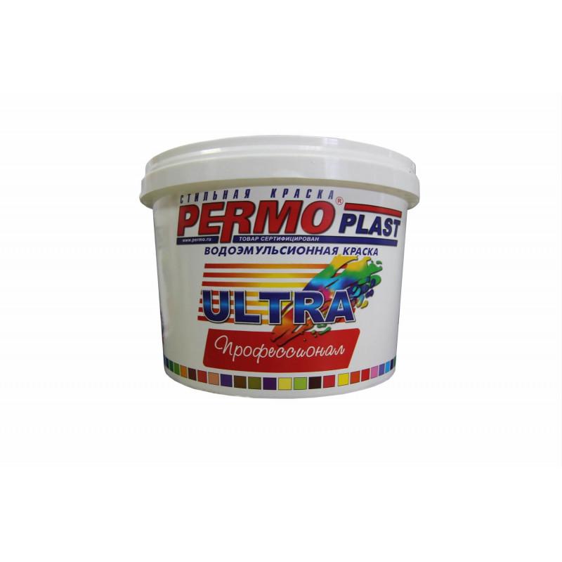 Краска PERMOPLAST Ультра для внутренних и внешних работ 15 кг