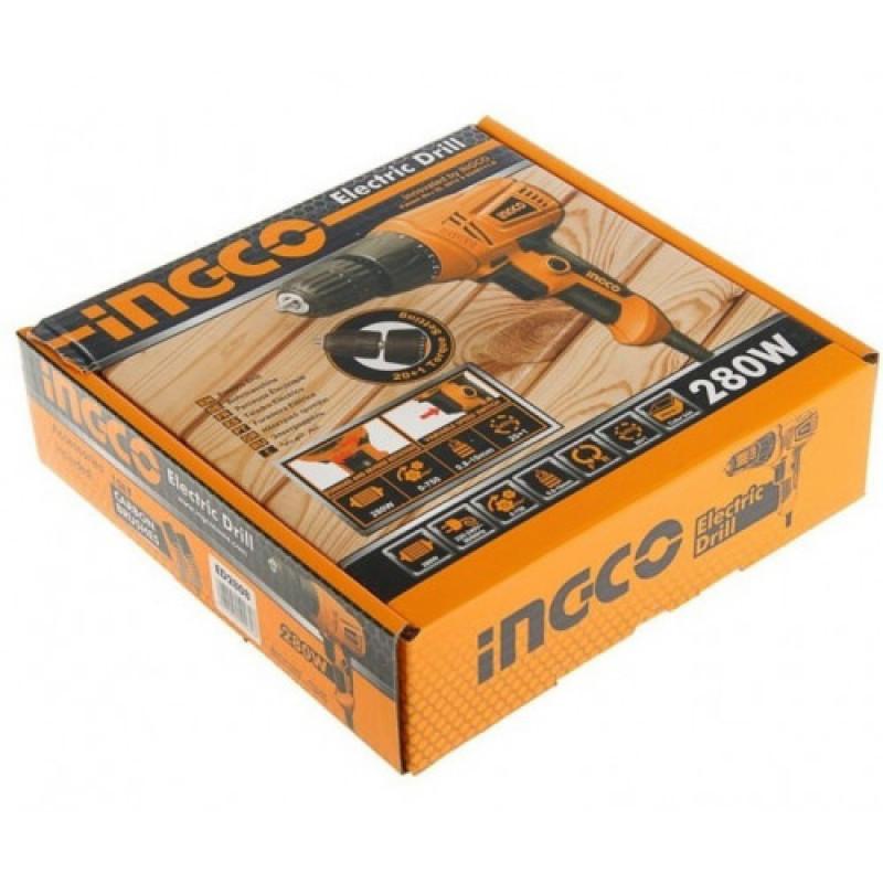 Электрическая дрель INGCO ED2808 280 Вт-1