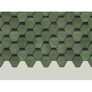 Черепица Деке Карат (зеленый)