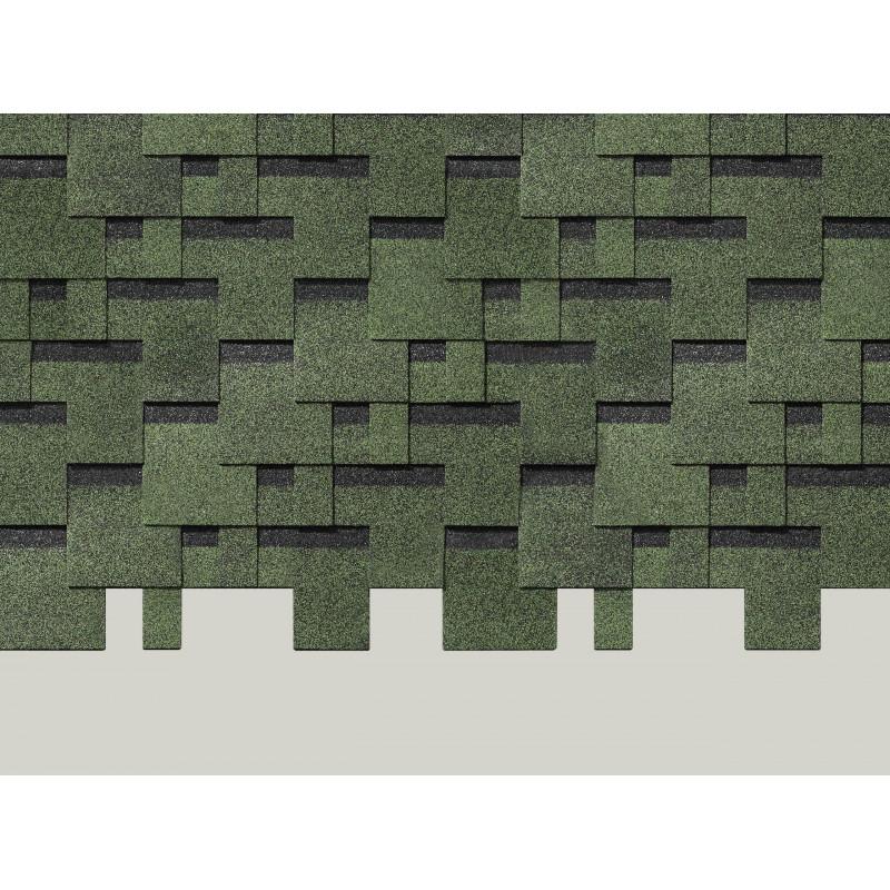 Черепица Деке Матрица (зеленый)