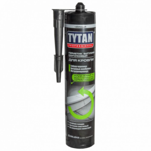 Герметик Tytan Professional Битумно-Каучуковый для кровли черный 310мл