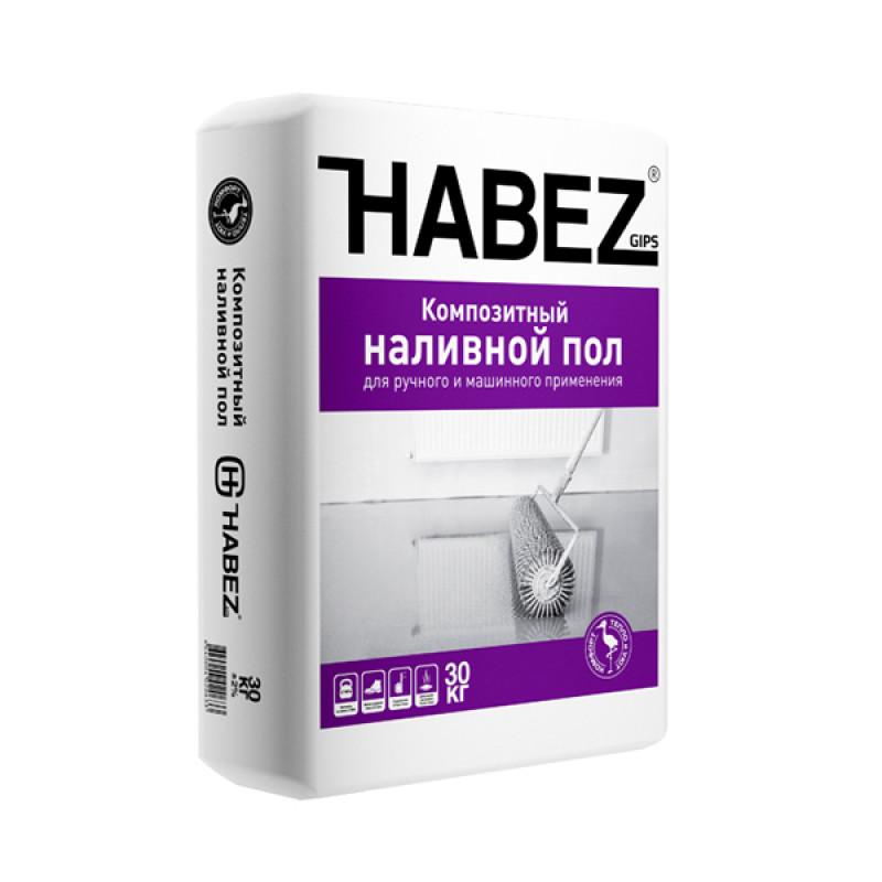 Наливной пол гипсовый Habez-Gips 30 кг,