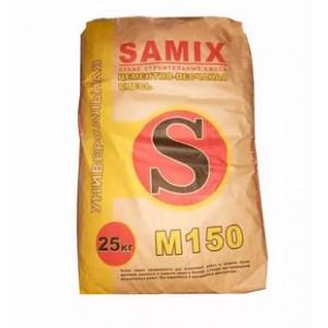 Цементно-песчанная смесь САМИКС М-150 универсальная, 25кг