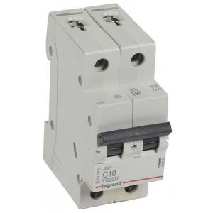 Legrand 2Р 10А Выключатель автоматический