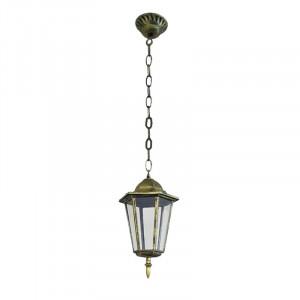 Садово-парковый светильник 6105(на цепочке) черное золото Уютель