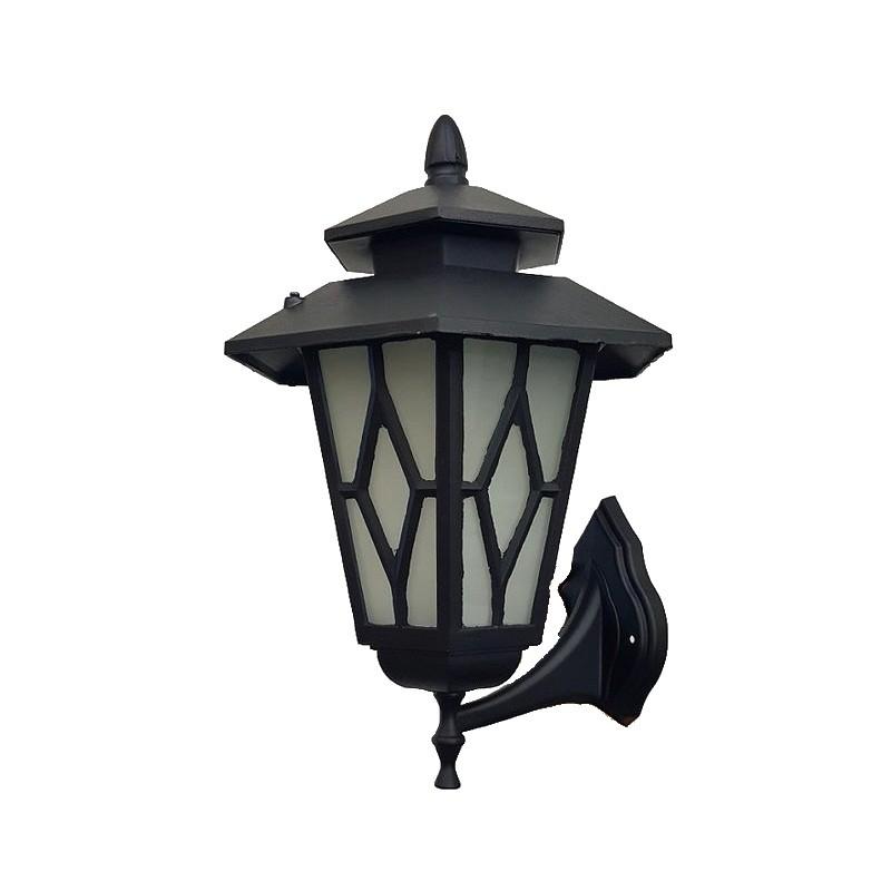 Светильник садово-парковый Уютель 9221 60Вт E27 черный