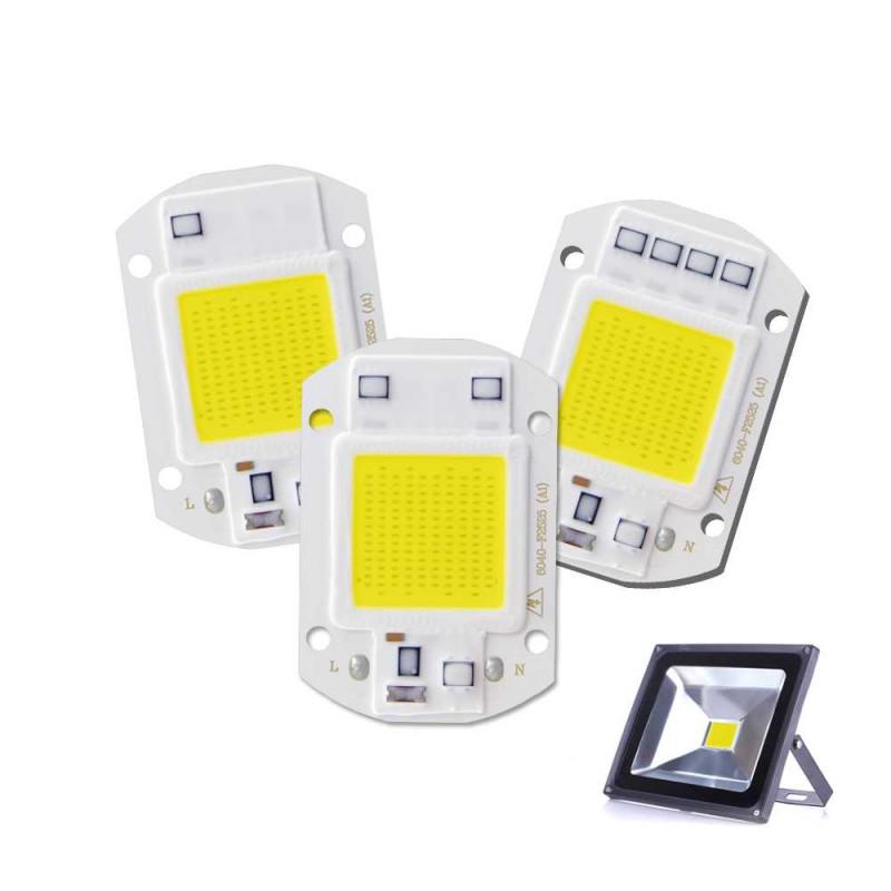 Чип LED 30Вт для прожектора Смарт ик