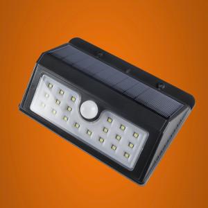 Прожектор LED  3Вт на солнечной батарее датчик движ.ISvet