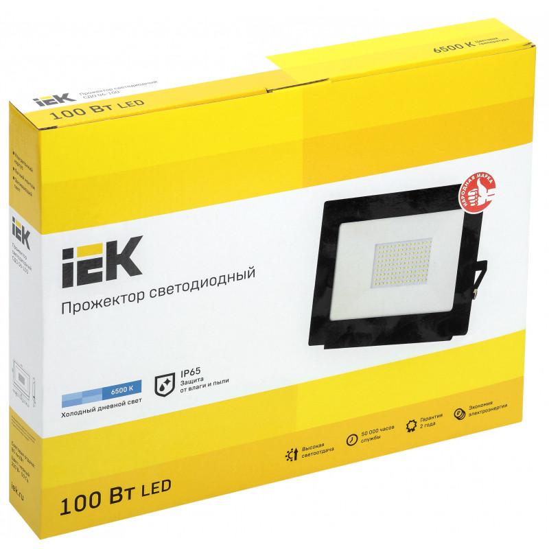 Прожектор LED 100W ИЭК IP65  6500К-1