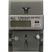 Счетчик 1ф Меркурий 206 РRNО (контроль мощности)  Ж/К