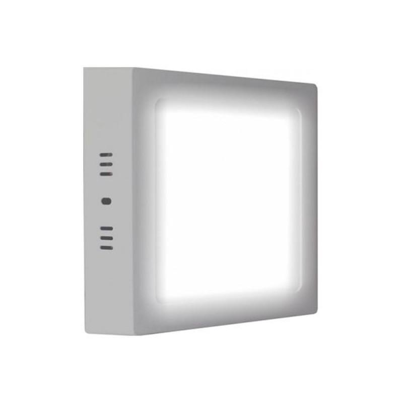 Светильник LED 18Вт квадрат(металл) 6000К (SLS) LEEK