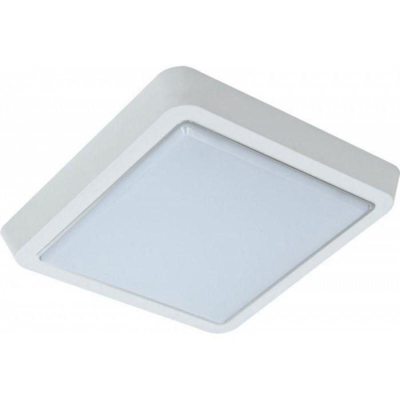 Светильник LED 10Вт квадрат 6000К LEEK