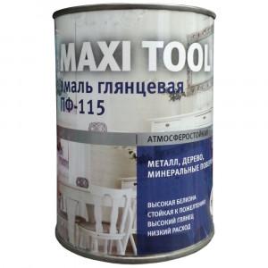 Эмаль ПФ-115 Maxi Tool Серая 0,9кг