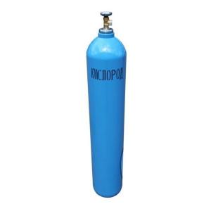 Кислород технический газообразный 1 сорт (40л, 6,3м3) ГОСТ 5583-78