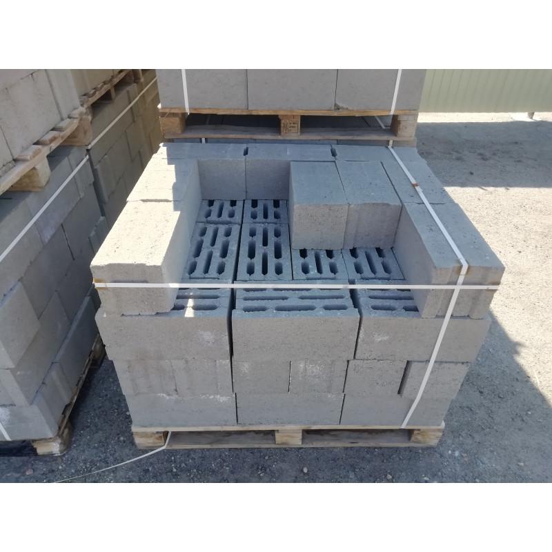 Блок фундаментный 190х188х390