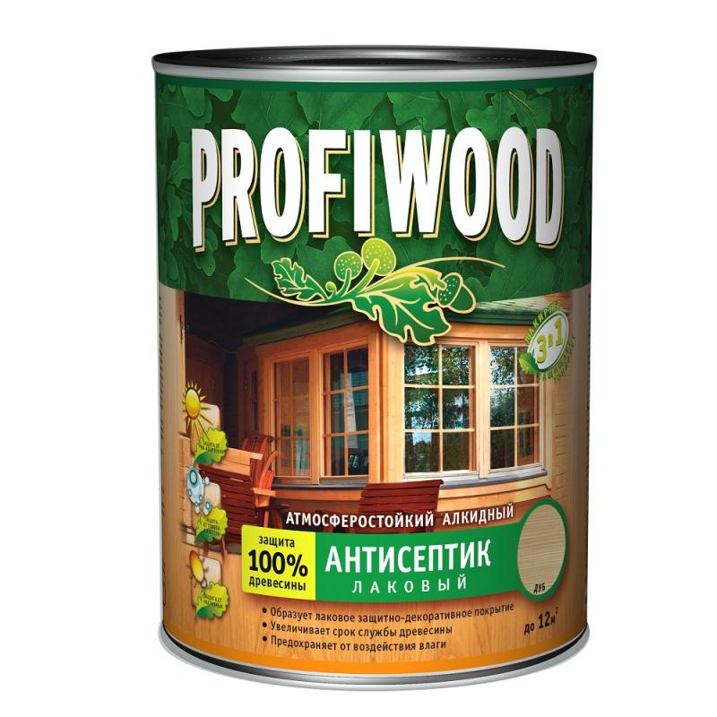 Антисептик лаковый сосна Profiwood 0.7кг