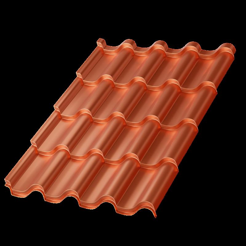 Металлочерепица Монтерроса Agneta 0.5